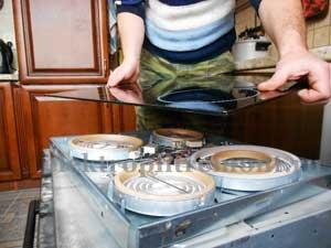 Ремонт плиты на дому